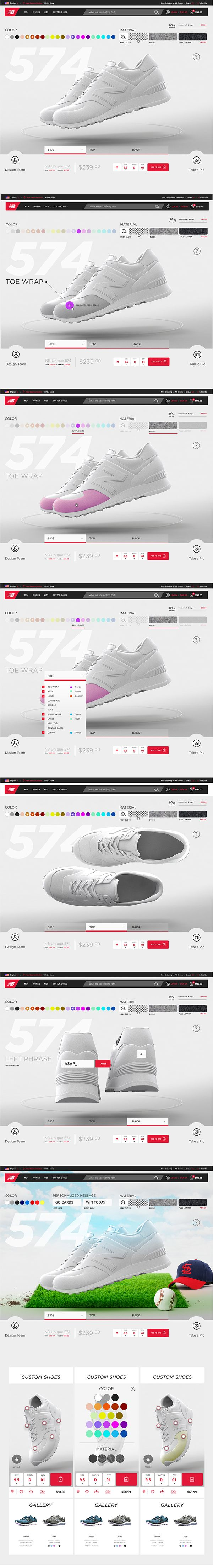 New Balance by Phil Rampulla