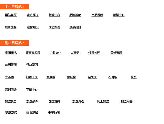 网站地图案例展示