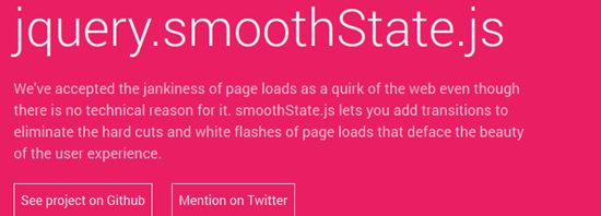 smoothState