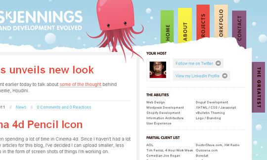 30佳别出心裁的网站导航设计案例,互联网的一些事