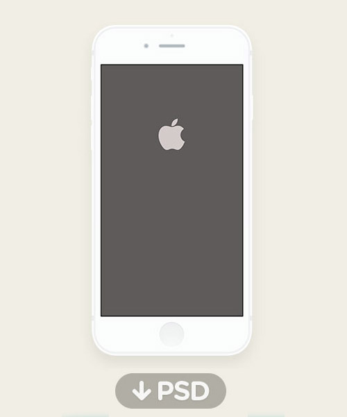 Free iPhone 6 and iPhone 6 Plus Mockup Templates (PSD, AI & Sketch) - Free Download - 39